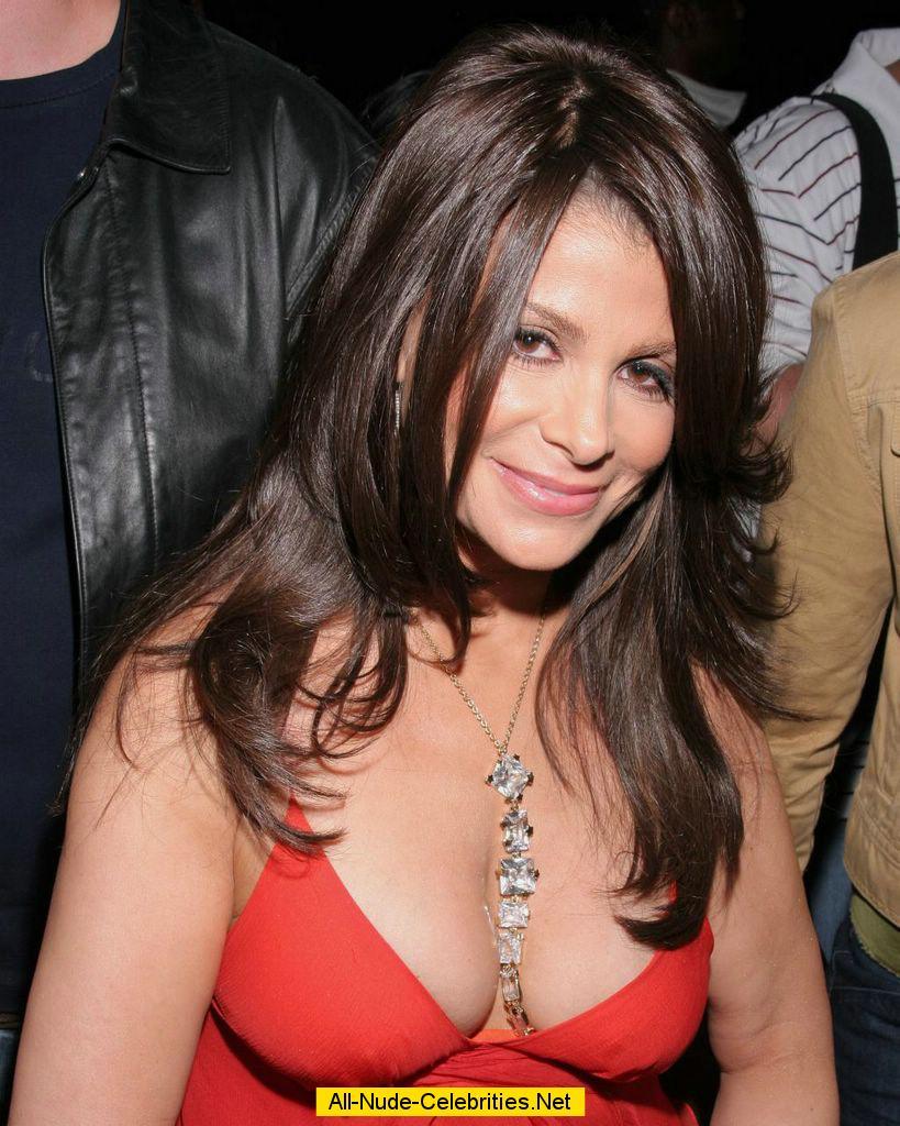 Paula Abdul various cleavage paparazzi shots