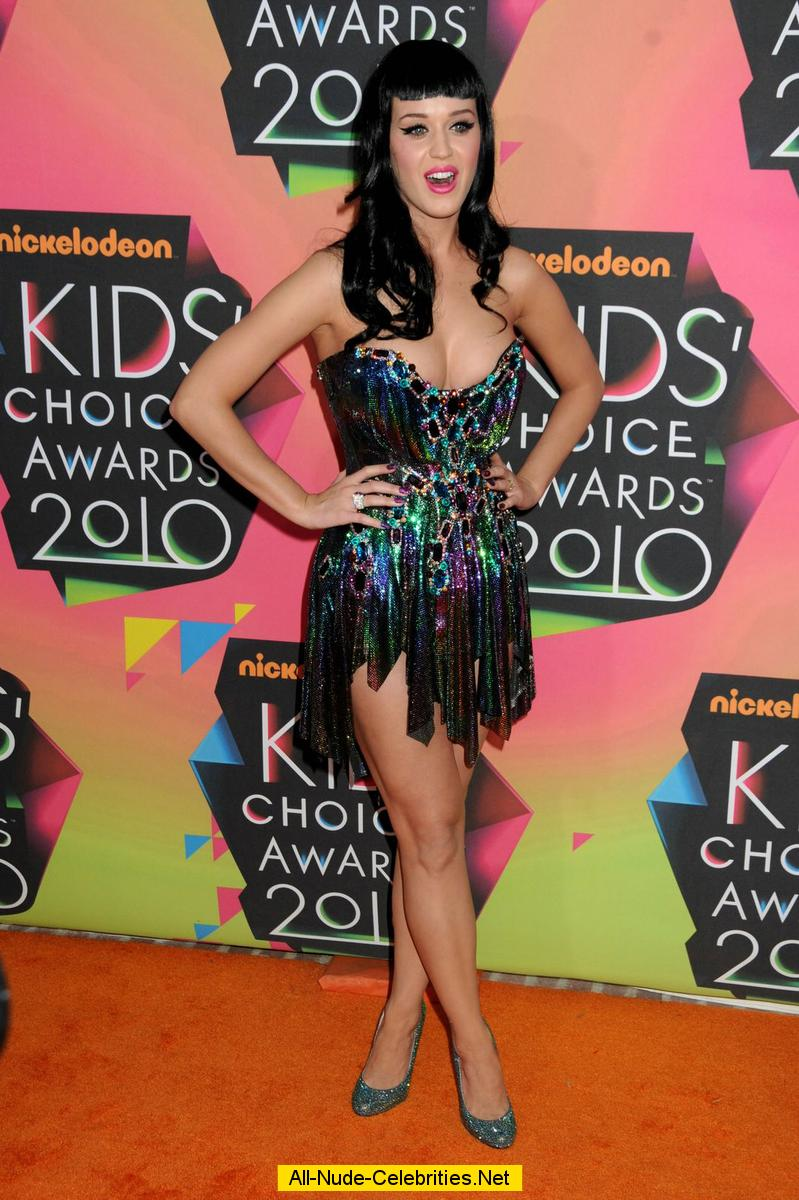 Katy Perry legs and cleavage at Nickelodeons 23rd annual ... Katy Perry Tour