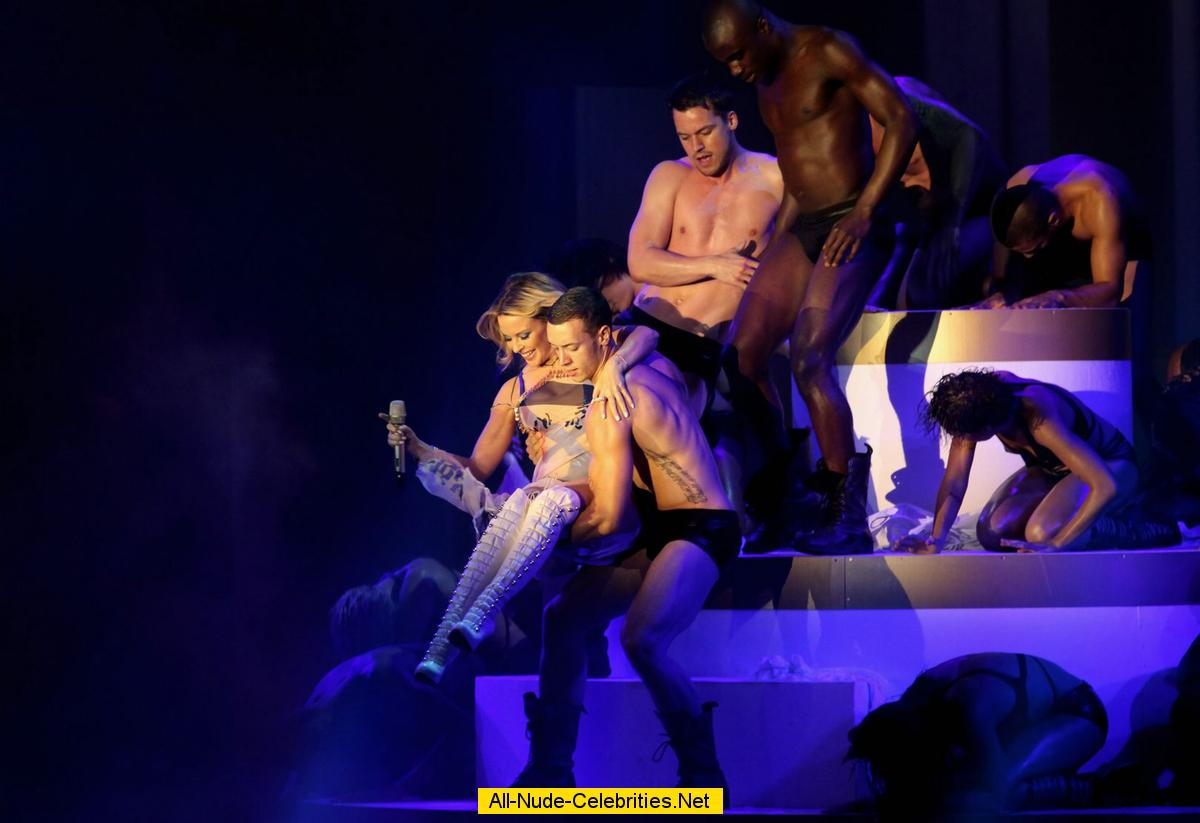 Kylie Minogue Performs At Next Top Model Final Stage