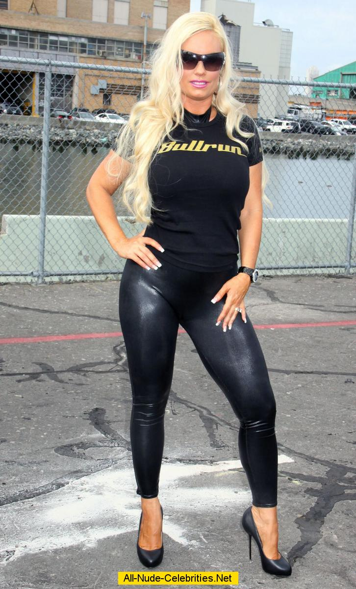 Coco Austin In Tight Clothing